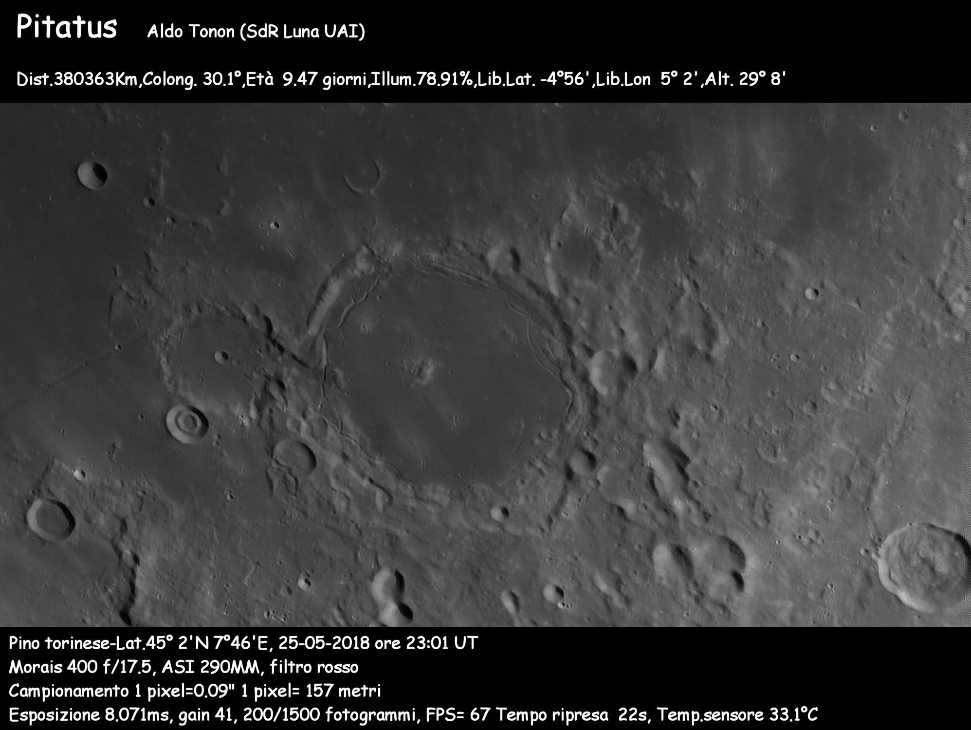 estremamente unico costo moderato originale a caldo I crateri - Sezione Luna - Unione Astrofili Italiani